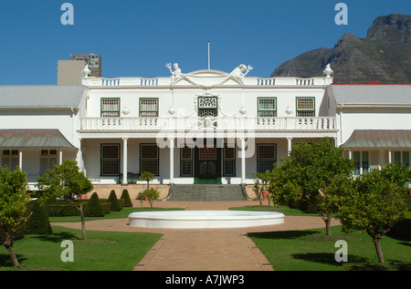 The Beautiful Presidents Residence in Companys Gardens Cape Town South Africa - Stock Photo