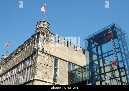 Festival hall Guerzenich building Cologne North Rhine Westphalia Germany - Stock Photo