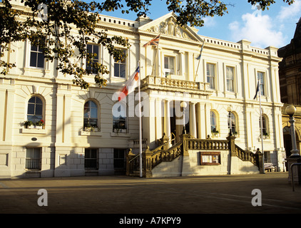 SOUTHPORT MERSEYSIDE UK October Town Hall Built by Thomas Stanley - Stock Photo