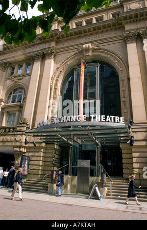 The Royal Exchange theatre in Manchester. - Stock Photo