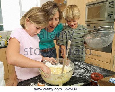 Mother makes comrade and companions