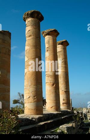 Temple of Apollo, Cyrene Greek / Roman ruins, Libya - Stock Photo
