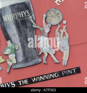 Ireland pubs - Stock Photo