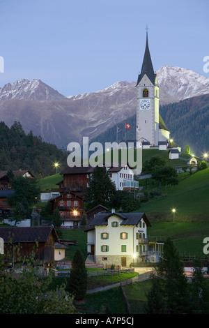 Schmitten, Graubunden, Switzerland - Stock Photo