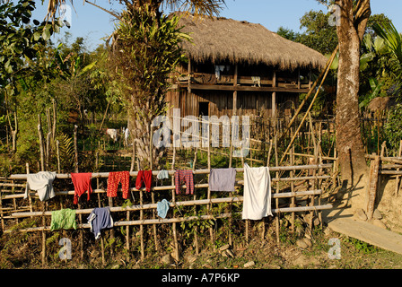 Traditionelles shan haus in putao kachin state myanmar for Traditionelles haus