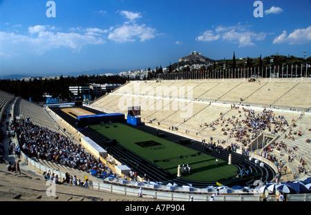 The Panathinaiko Stadium - Stock Photo