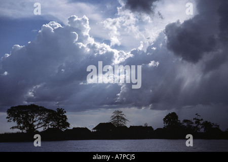Sepik River, Papua New Guinea - Stock Photo