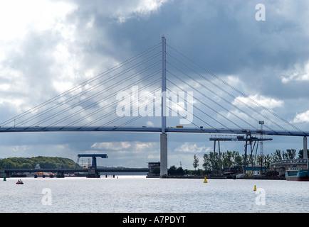 Stralsund new bridge to Ruegen - Stock Photo