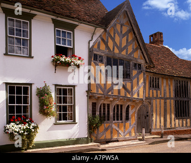 GB - SUFFOLK: Little Hall at Lavenham - Stock Photo