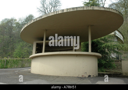 Tecton architecture at dudley zoo by russian architect for Architecture kiosk design