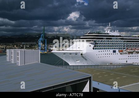 costa atlantica cruise ship port of los angeles san pedro california stock photo 92594900 alamy. Black Bedroom Furniture Sets. Home Design Ideas