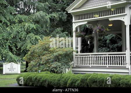 NA, USA, Washington, Vancouver. The Marshall House, Ft. Vancouver NHS - Stock Photo