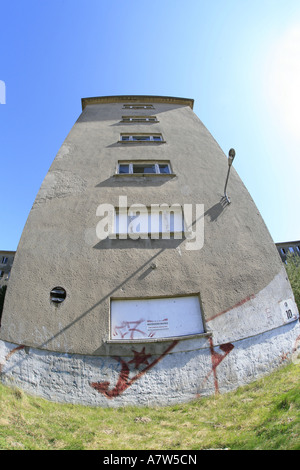 kdf spa Colossus of Prora of the Third Reich on the island Ruegen, Germany, Ruegen, Prora - Stock Photo