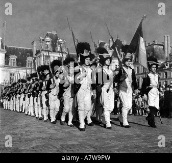 movie, 'Napoleon', (Napoleone), FRA/ITA, 1955, director: Sacha Guitry, scene, Napoleon I, Napoleon Bonaparte, France, - Stock Photo