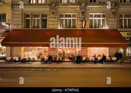 Restaurant in Vienna (Zum Schwarzen Kameel), Austria - Stock Photo