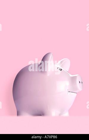 Piggy bank Sparschwein - Stock Photo