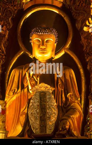 Asia, Japan, Nagasaki, Sofukuji Temple Buddha - Stock Photo