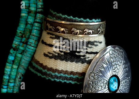 Southwest, American Indian art & handicrafts. - Stock Photo