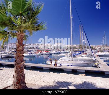 Lagos Marina, Algarve, Portugal - Stock Photo