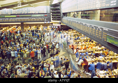 Trading Floor Of The Chicago Board Of Trade Chicago