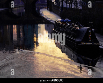 Birmingham Birmingham Main Line Canal Nr National Indoor Arena - Stock Photo