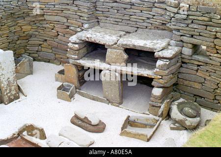 Skara Brae Human Settlement Place - Stock Photo