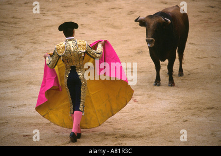 Bullfight - Pamplona, Navarra, SPAIN - Stock Photo