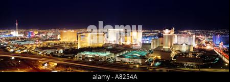 Flamingo Road, Las Vegas, Nevada, USA - Stock Photo