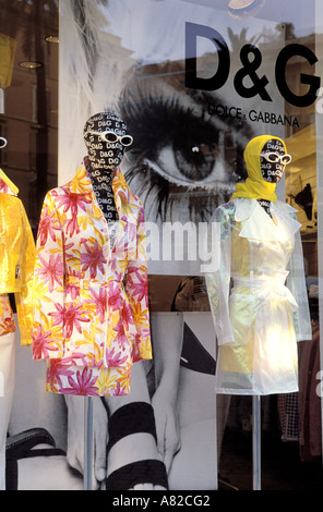 "Italy, Lazio, Rome, ""Dolce et Gabannaî shop - Stock Photo"
