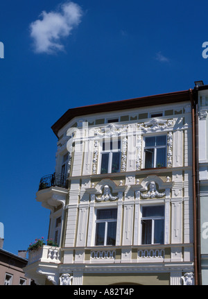 Beautiful building at Main Market Square in Przemysl Poland - Stock Photo