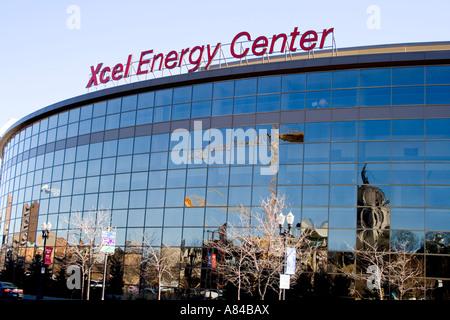 Xcel Energy Center, St Paul, MN Stock Photo: 17185562 - Alamy