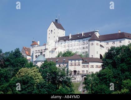 Germany. Bavaria. Aschau Im Chiemgau. Castle Hohenschau. - Stock Photo