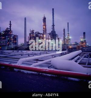 Australia. New South Wales. Kurnell petro chemical refinery. - Stock Photo