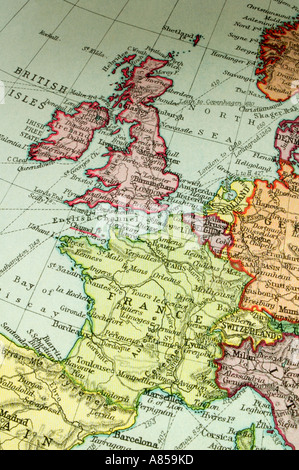 Map Of Germany And Holland.Antique Map Of Germany Holland Austria And Hungary In Europe By