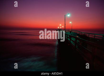 virginia beach fishing pier at sunrise stock photo, royalty free, Reel Combo