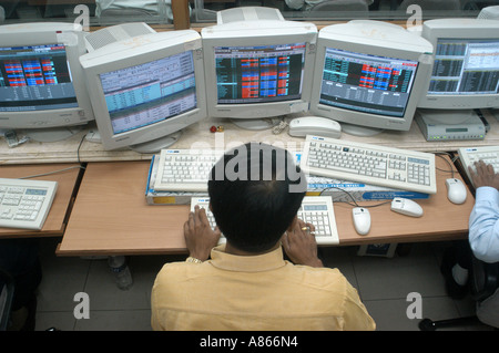Online trading system of bombay stock exchange