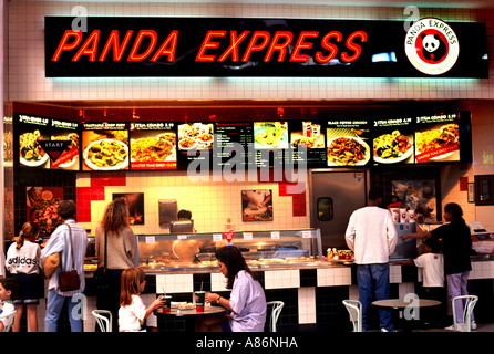 Austin Texas Panda Express Fast Food United States - Stock Photo
