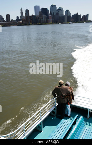 Couple on a boat ride - Stock Photo