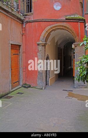 rhone lyon 7 rue du garet emmanuel ferra s traditional stock photo royalty free