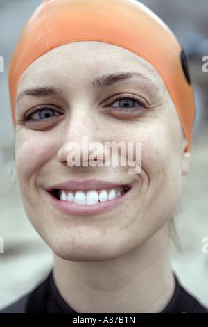 Portrait of a woman. - Stock Photo
