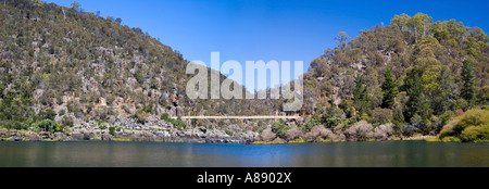Cataract Gorge in Tasmania - Stock Photo