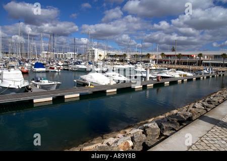 Lagos Marina Algarve Portugal - Stock Photo