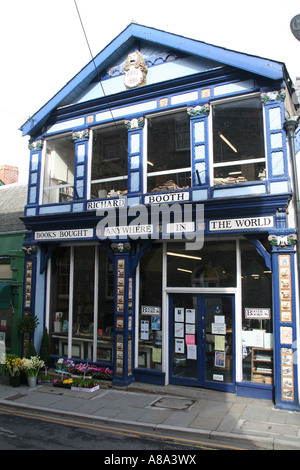 Richard Booth's Bookshop in Hay on Wye, Wales - Stock Photo
