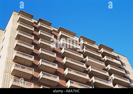 Apartment block - Stock Photo