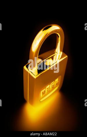 padlock Vorhängeschloss - Stock Photo