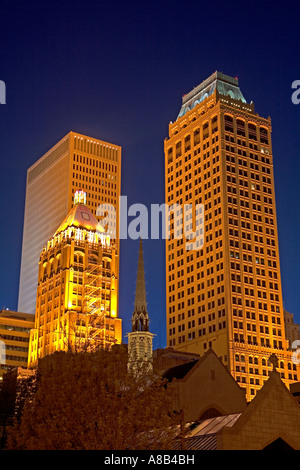 Downtown Tulsa Oklahoma USA - Stock Photo