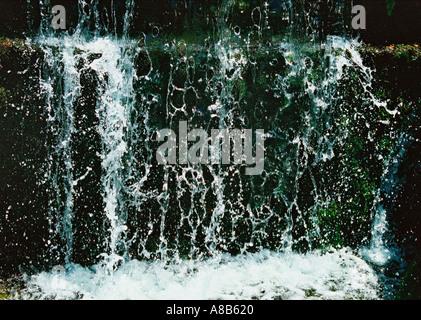 Waterfalls in Crete - Stock Photo