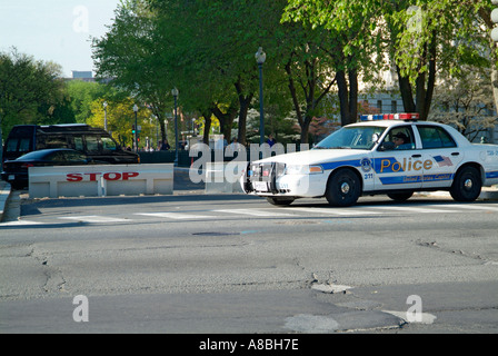 Homeland Security stationed at the Capitol Building - Stock Photo