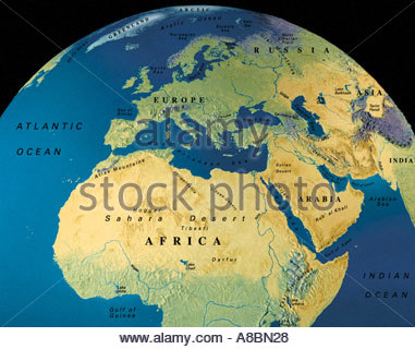 Globe map maps africa middle east stock photo 3934505 alamy globe map maps africa middle east europe stock photo gumiabroncs Images