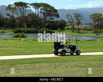 Steenberg golf course Constantia western cape South Africa - Stock Photo